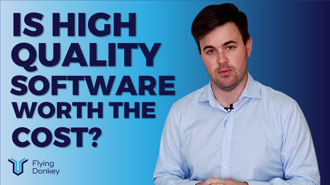 Is High Quality Software Worth the Cost?