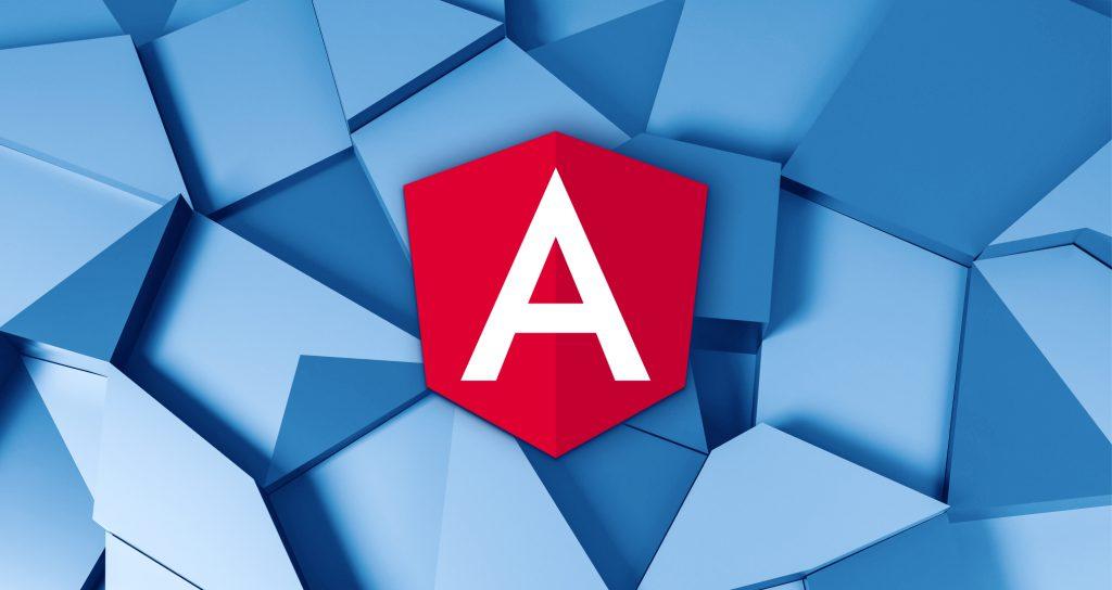 Angular logo decorative photo